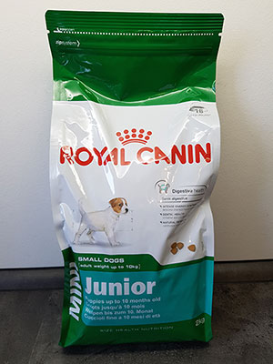 royal canin junior welpenfutter hundefutter test. Black Bedroom Furniture Sets. Home Design Ideas